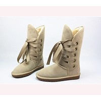 UGG Gao Tong snow boots ordinary color series light coffee