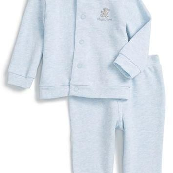 Ralph Lauren French Terry Jacket & Sweatpants (Baby Boys) | Nordstrom