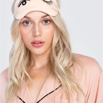 Wildfox Beauty Sleep Eye Mask in Bellini