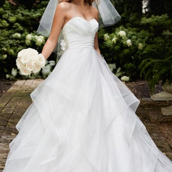 Wtoo by Watters Selena 14430 Ruffle A-Line Wedding Dress
