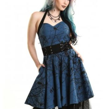 VIXXSIN DARK CROW DRESS
