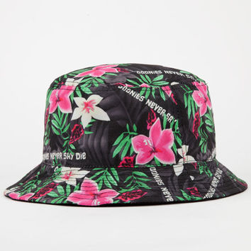 Rook X The Goonies Never Say Die Mens Bucket Hat Black Combo One Size For Men 25164614901