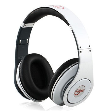 Turbo 3.5 mm Plug On-Ear Style Folding Stereo Headphone for Cell Phone, PC, MP3 Player (White)