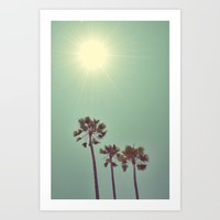 Beaming Art Print by RichCaspian