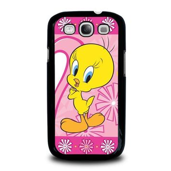 tweety bird looney tunes samsung galaxy s3 case cover  number 1