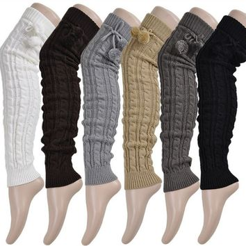 Shoeselfee Knitted Leg Warmers