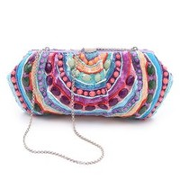 Santi Purple Stones Clutch | SHOPBOP