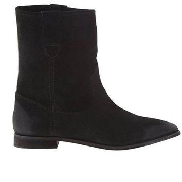 ONETOW Matisse Coconuts Jed - Black Flat Pull-On Western Style Boot