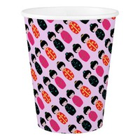 Asian Dolls Paper Cup