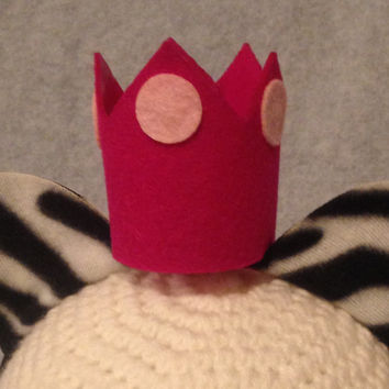 Add a Crown to any set of ears in my shop bridal shower bachelorette party animal theme