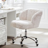 Polar Bear Wingback Chair