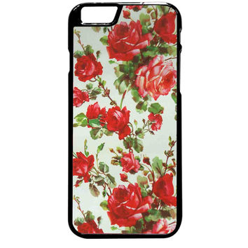 Vintage Floral Roses For iPhone 6 Plus Case *ST*