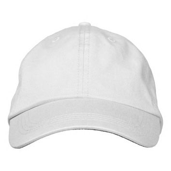 Create Your Own custom Embroidered Adjustable Hat