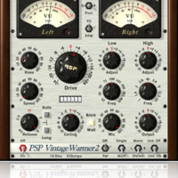 PSP VintageWarmer2 the award-winning analog-style multi-band compressor limiter plug-in!