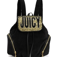 Pretty In Paradise Velour Backpack by Juicy Couture
