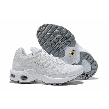 Nike Air Max Plus White Grey Child Sneaker Toddler Kid Shoes - Best Deal Online