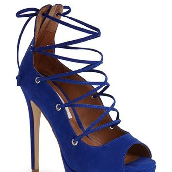 Women's Steve Madden 'Bimmi' Lace-Up Pump,