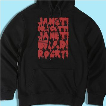 Rocky Horror Picture Show Janet Brad Dr Scott Frank N Furter Horror Musical Movie Men'S Hoodie