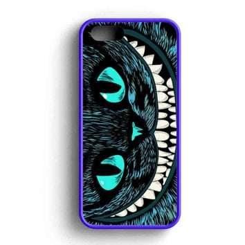 Cheshire Blue Head Cat iPhone Case For iPhone SE, 5/5s, 5c, 4
