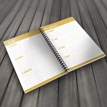 Daily Planner August 2015