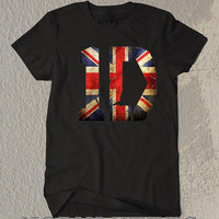 One Direction 1D  Shirt Symbol Black and White Tee For Men Or Women Shirt Unisex Size TS02