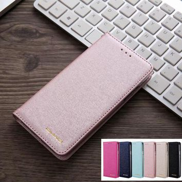 For Apple iPhone 8 Plus Case Leather Wallet + Silicone Transparent Back Cover For iPhone 7 plus 7Plus 8Plus Phone Case For Girls