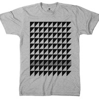 Black and Grey Triangles