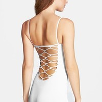 Women's Free People Strappy Back Seamless Romper,