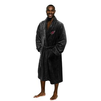 Arizona Cardinals NFL Men's Silk Touch Bath Robe (L/XL)