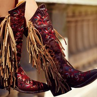Free People Cross Train Western Boot