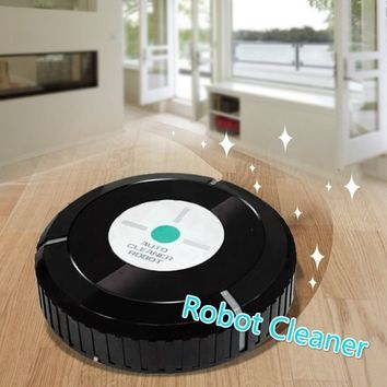 Robotic floor sweeper Robot Floor Cleaning Automatic Vacuum for home office