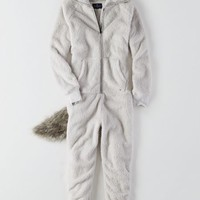 AEO Women's Foxy Onsie (Grey)