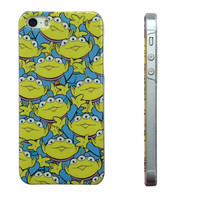 For iPhone 5S Case Toy Story Alien Little Green Man Hard Back Case Cover for iPhone 5 5S