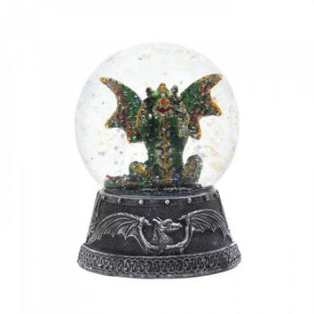 Green Dragon Water Globe