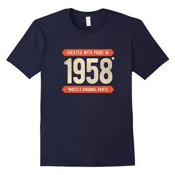 1958 60th Birthday Present Gag Gift T-Shirt