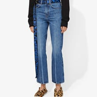 PSWL CROPPED FLARE JEANS