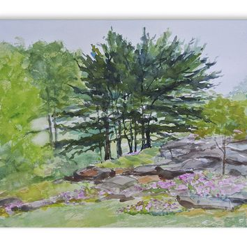 BOTANICAL GARDEN NYC Canvas Art By Jayne Conte