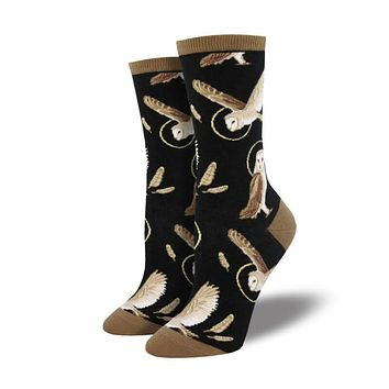 Wise And Shine Owl Socks