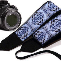 Native American Camera Strap Inspired. Ethnic Camera Strap, Southwestern Camera Strap.