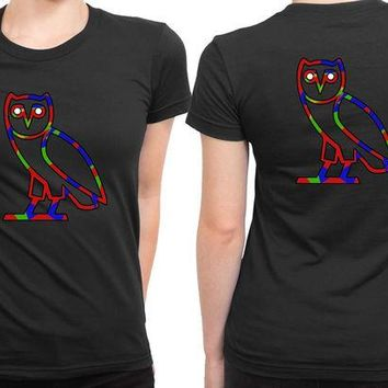 DCCKG72 Ovo Colorize Cover Logo 2 Sided Womens T Shirt