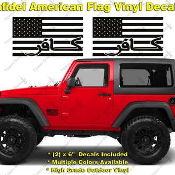 Shop American Flag Decals Stickers On Wanelo - Custom windo decals for jeepsjeep hood decals and stickers custom and replica jeep decals now