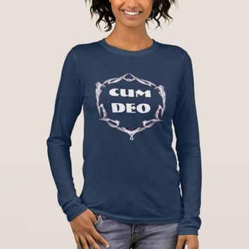 Cum Deo Long Sleeve T-Shirt