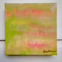 Abstract Original Painting/Colorful Gallery Wall Art
