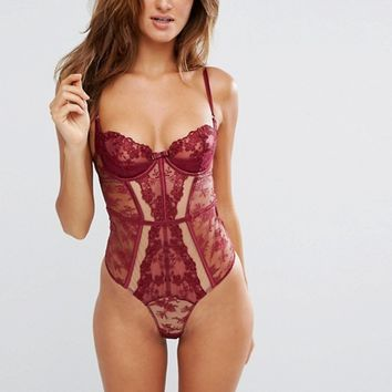 Ann Summers Posey Bodysuit at asos.com
