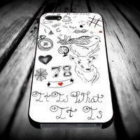 Louis Tomlinson Tattoo for iPhone 4/4s/5/5s/5c/6/6 Plus Case, Samsung Galaxy S3/S4/S5/Note 3/4 Case, iPod 4/5 Case, HtC One M7 M8 and Nexus Case ***