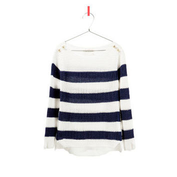 STRIPED SWEATER - Cardigans and sweaters - Girl - Kids - ZARA United States