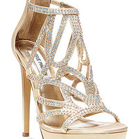 Steve Madden Singer Platform Evening Sandals