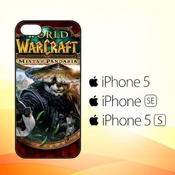 World of Warcraft Guardian Druid Mists of Pandaria Z0652  iPhone 5|5S|SE Case