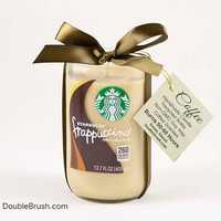 Frappuccino Candle Upcycled Starbucks