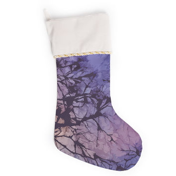 "Alison Coxon ""Violet Skies"" Christmas Stocking"